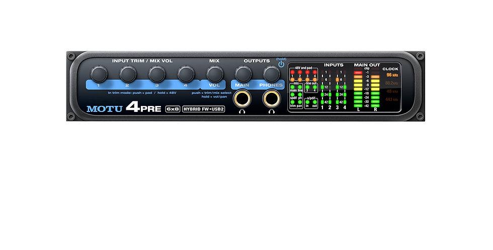 Motu 4pre USB / FireWire Audio Interface