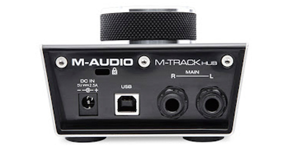 M-Audio AIR | Hub Desktop USB Monitoring Interface with Built-In 3-Port Hub