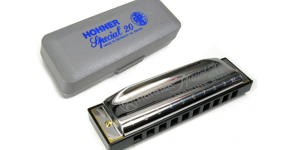 Hohner Special 20, Harmonica in Key of C, D,  E, A & E flat