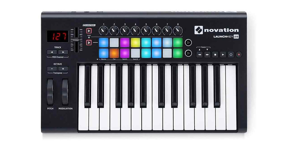 NOVATION LAUNCKEY 25 MKIII MIDI Keyboard