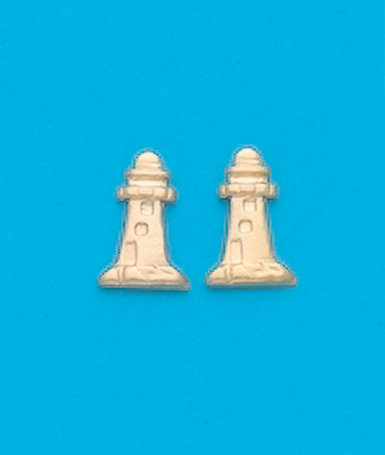 Lighthouse Stud Earrings