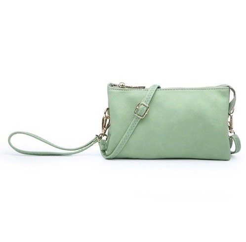 Pastel Colors Wristlet Crossbody