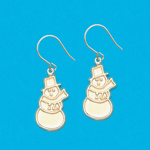 Snowman Dangle (fish hook style)