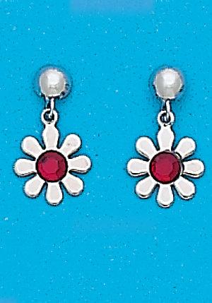 White Birthstones Daisy