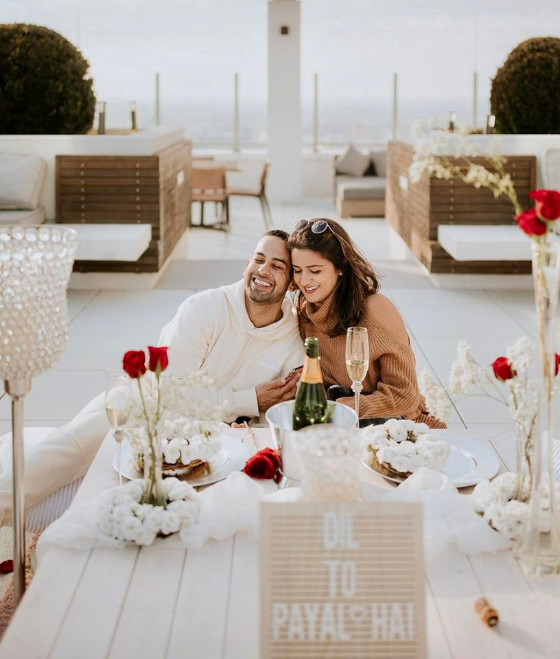 Rooftop Proposal Picnic