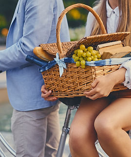 a-couple-rides-a-bicycle-to-a-picnic-FQV