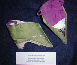 Chinese Bind Shoes