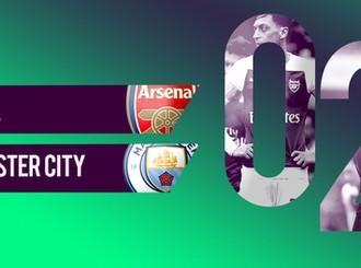 Hasil Pertandingan Premier League, Arsenal 0 – 2 Manchester City