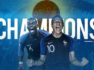 Hasil Final Piala Dunia 2018, Prancis 4 – 2 Kroasia: Pogba dan Mbappe Jadi Kejutan