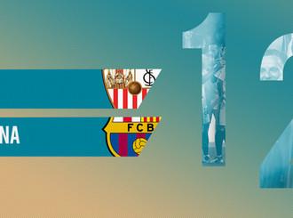 Hasil Pertandingan Supercoppa de Espana, Sevilla 1 – 2  Barcelona