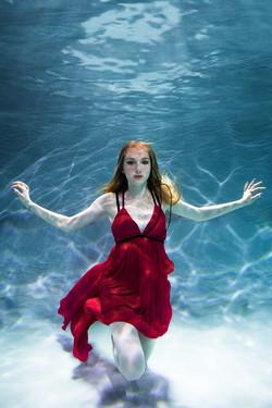 Подводная фотосессия