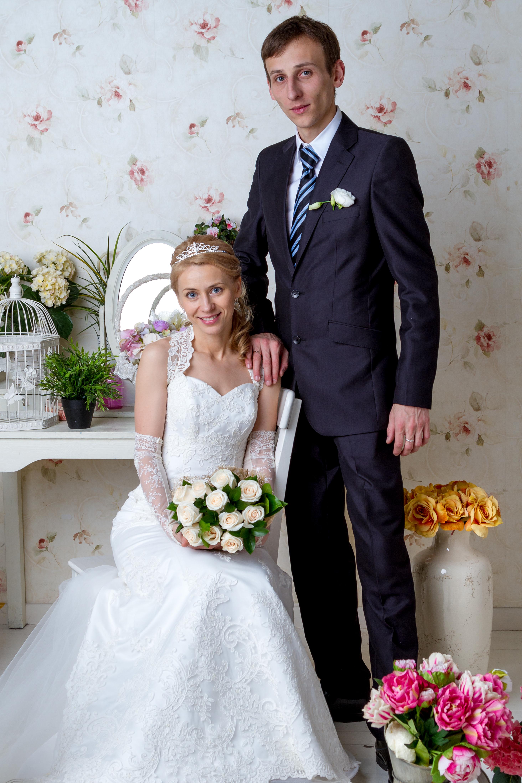 Свадебная фотография в студии