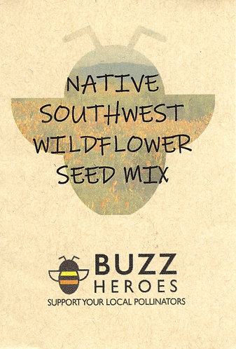 Native Southwest Wildflower Seed Mix