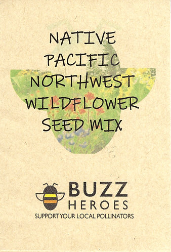 Native Pacific Northwest Wildflower Seed Mix