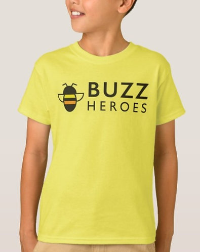 Kids T-Shirt Yellow with Logo
