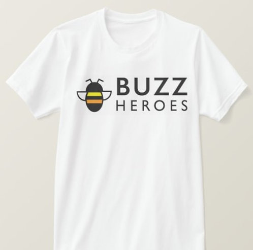 T-Shirt White with Logo