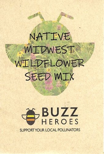 Native Midwest Wildflower Seed Mix