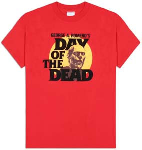 Day Of The Dead 赤Tシャツ