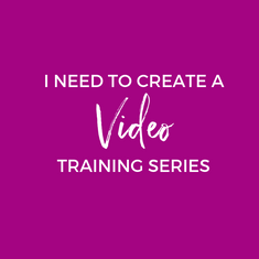 Video Training Series