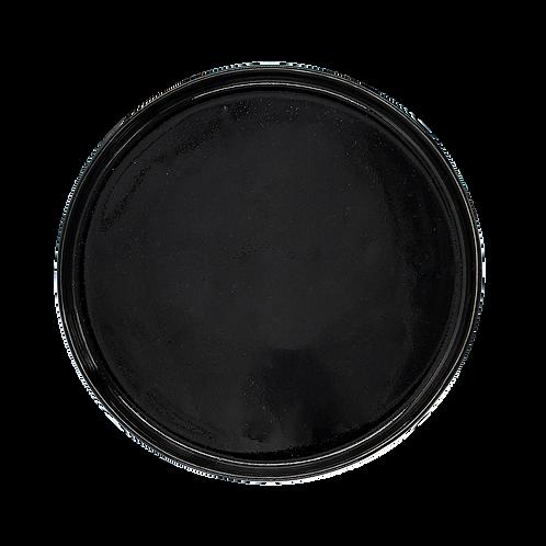 BLACK CAKE PLATE