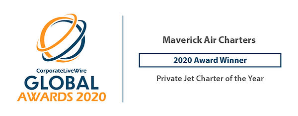 Global Awards - Private Jet Charter of t