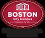 Boston Logo 2020 with White & Black tag
