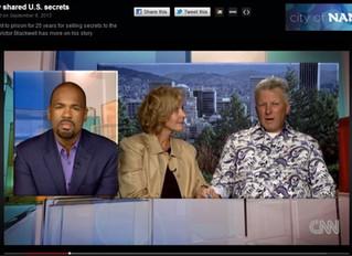 Christopher Boyce and Cait Boyce on CNN