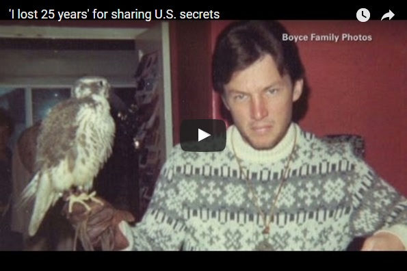 Christopher Boyce, the former Cold War made famous by the movie The Falcon and the Snowman is interviewed by Victor Blackwell on CNN.