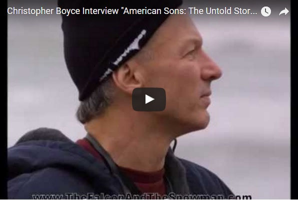 "Cold War spy Christopher Boyce (""The Falcon"") is interviewed by John Aberle about his years in federal prison and his new book American Sons: The Untold Story of the Falcon and the Snowman."