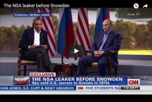 "Cold War spy Christopher Boyce of The Falcon and the Snowman is interviewed by CNN about his book ""American Sons"" and whistleblower Edward Snowden."