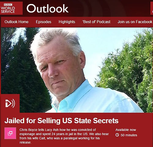 Cold War spy Christopher Boyce of the Falcon and the Snowman is interviewed by the BBC.