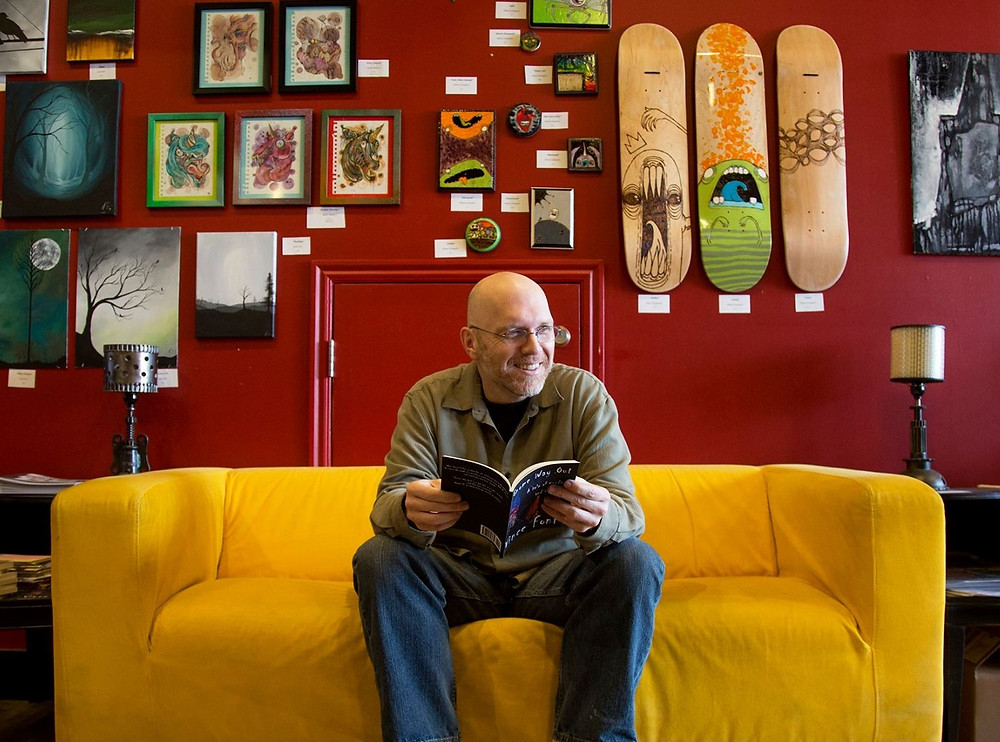 Vince Font, founder of Get My Story Published (Photo by Benjamin Zack)