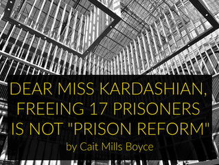 Freeing 17 inmates is not prison reform