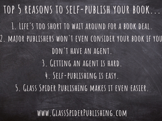 Top 5 Reasons to Self-Publish Your Book (with our help, of course!)