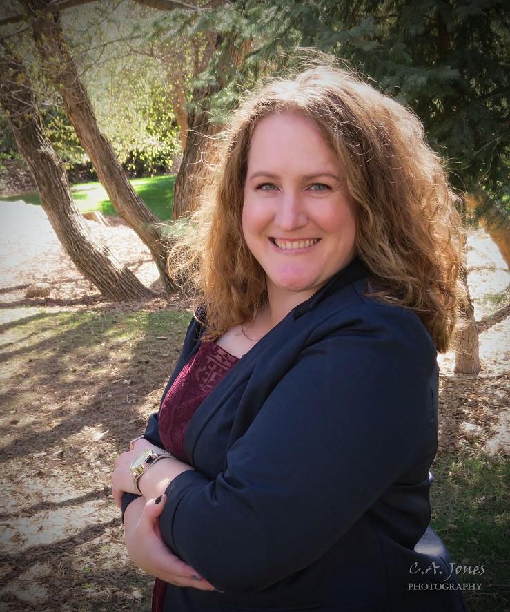 "Andrea Boyette, author of ""Noble."""