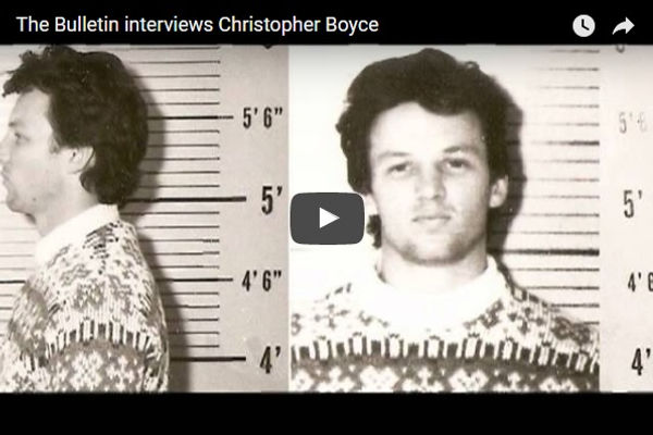 Cold War spy Christopher Boyce is interviewed by the Bend Bulletin's Sheila G. Miller.