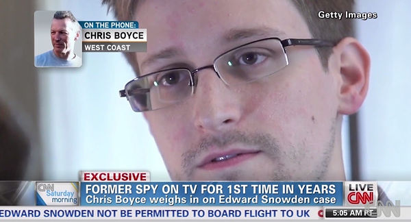 Cold War spy Christopher Boyce speaks to CNN about whistleblower Edward Snowden in an exclusive interview.