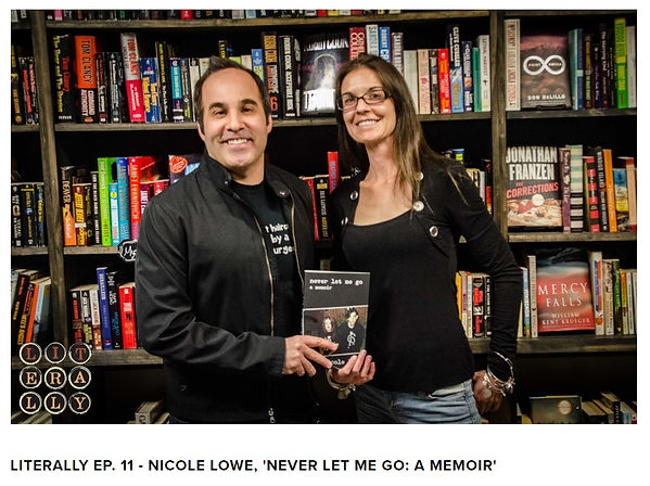 "Utah author and assistant attorney general Nicole Lowe is interviewed about her hard-hitting memoir ""Never Let Me Go."""