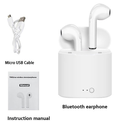 Bluetooth Earpiece BE5 Pair w Box