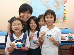 Mrs Yee with Students