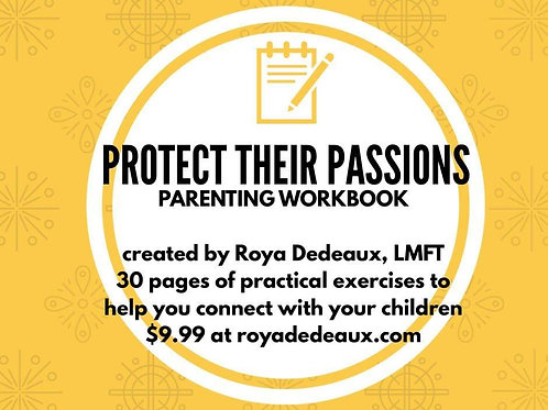 Protect their Passions workbook