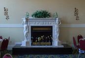 skyview ballroom fireplace