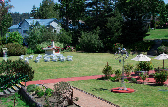view of lawn