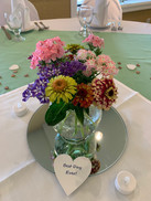 wedding flower table centerpiece