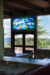 outdoor view from restaurant