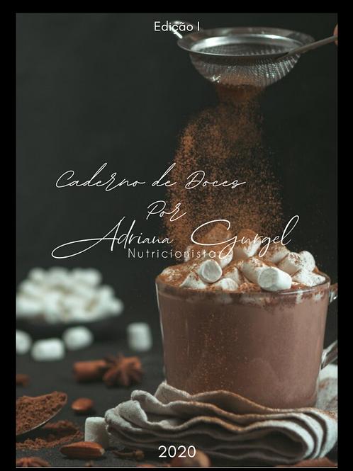Caderno de Doces por Adriana Gurgel
