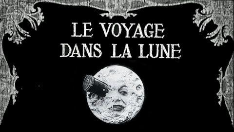 Viagem à lua, de Georges Méliès.