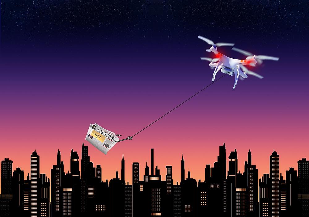 Drones de entrega
