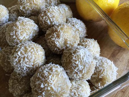 Lemon Cashew Protein Balls