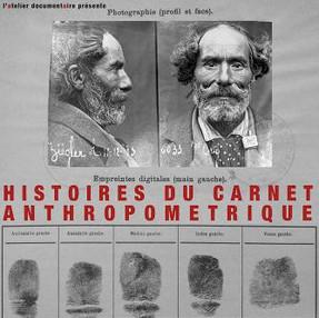 Histoire du carnet anthropométrique réalisé par Raphaël Pillosio